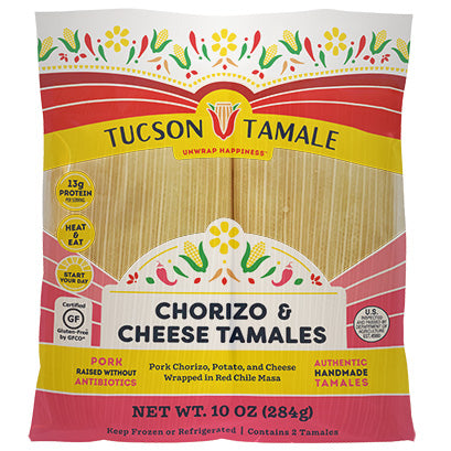 Chorizo & Cheese Tamales