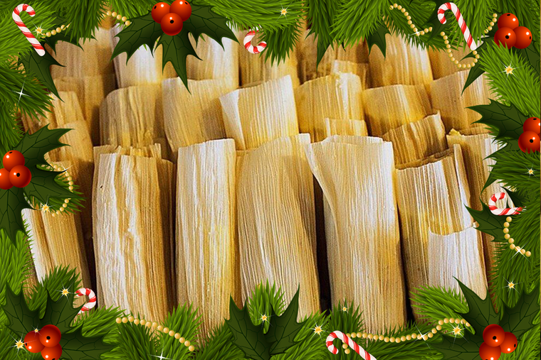 A Really Big Box of Christmas Tamales
