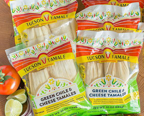 Green Chile & Cheese 'The Green Corn Tamale'
