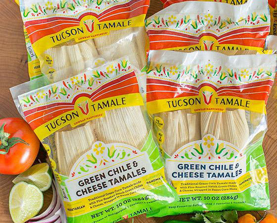 Really Big Box of Green Chile & Cheese Tamales