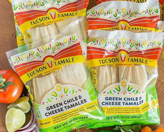Box of Green Chile & Cheese Tamales