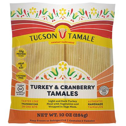 Turkey & Cranberry Tamales