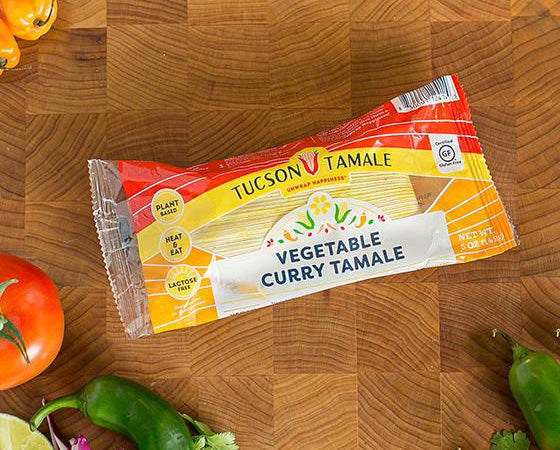 Vegetable Curry - Pack of 8 Single Serve Tamales