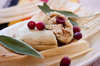 Turkey and Cranberry Tamale with Sage-spiced masa