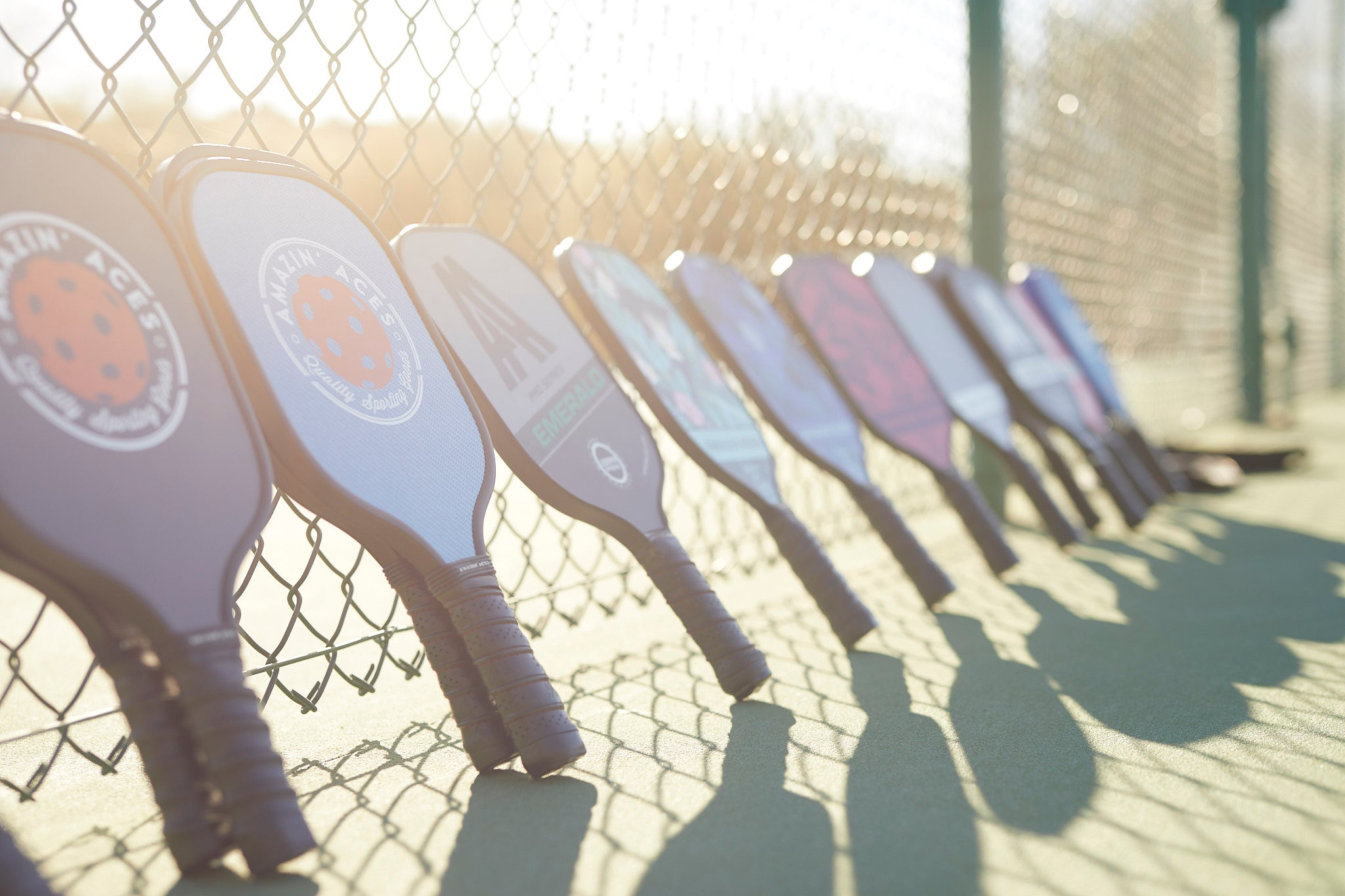 pickleball paddles and equipment