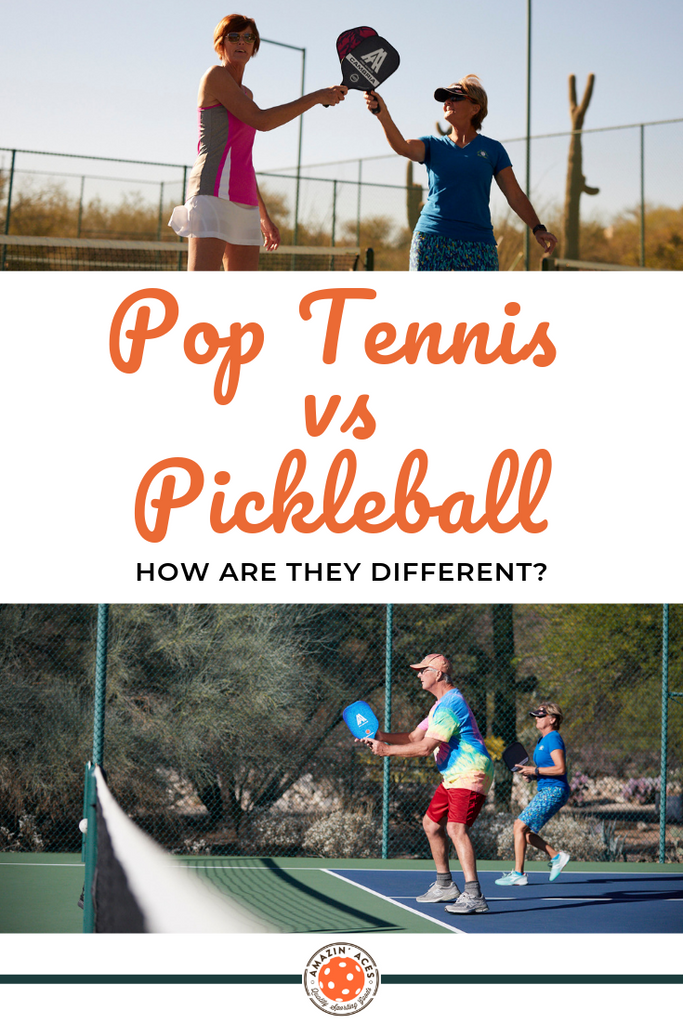 pop tennis vs pickleball how are they different