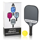 gray pickleball paddle