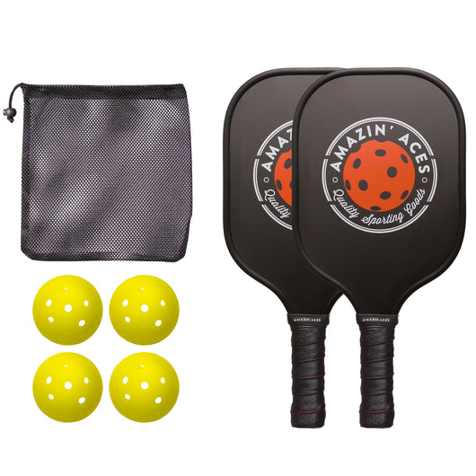 pickleball paddle set graphite
