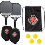 "Amazin' Aces ""SIGNATURE"" Pickleball Paddle Set 