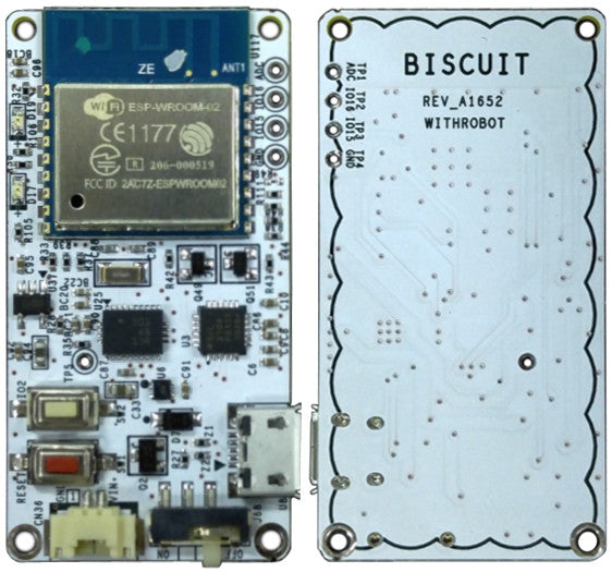Biscuit™ - Programmable Wi-Fi 9-Axis Absolute Orientation Sensor