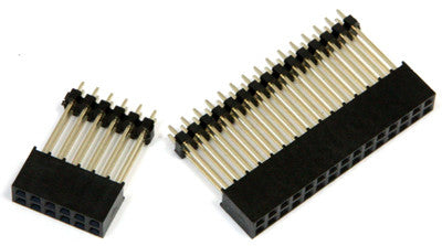 30pin and 12pin Header Sockets