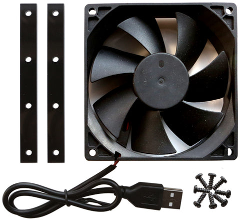 MC1 Cooling Fan, Acrylic and Screw Package