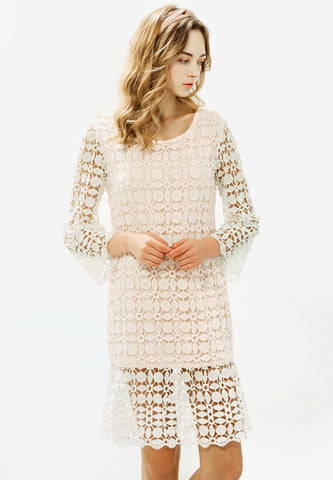 Spring Blooms Lace Dress