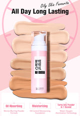Beauty Maker Oil-Free Long Lasting Liquid Foundation SPF 40
