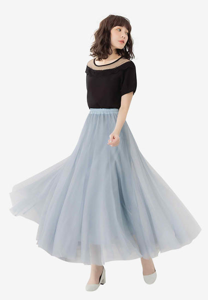 Romantic Giselle Ballerina Long Skirt