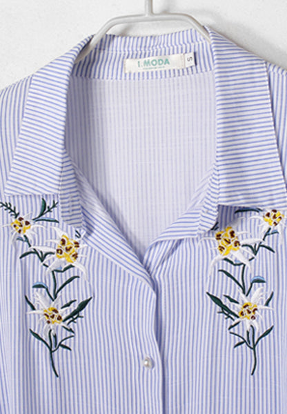 Delightfully Floral Embroidered Top