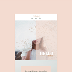 Free Fall Flodesk Template