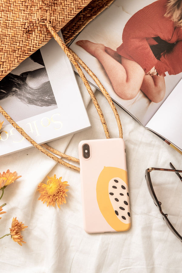 Papaya Slice Phone Case