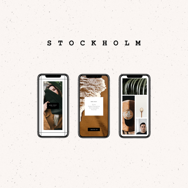 Stockholm Social Media Kit