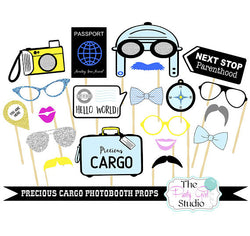 Printable Photobooth Props The Party Girl Studio