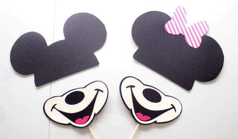 picture regarding Minnie Mouse Photo Booth Props Printable called 15laptop * Mickey and Mates Picture Booth Props/Photobooth Props