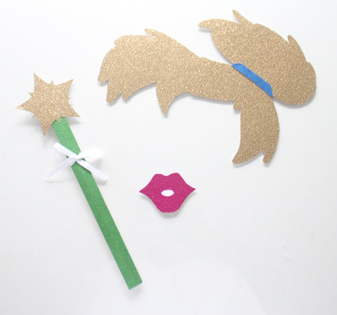Very 5pc * Tinkerbell and Peter Pan Photo Booth Props/Princess Party  AO68