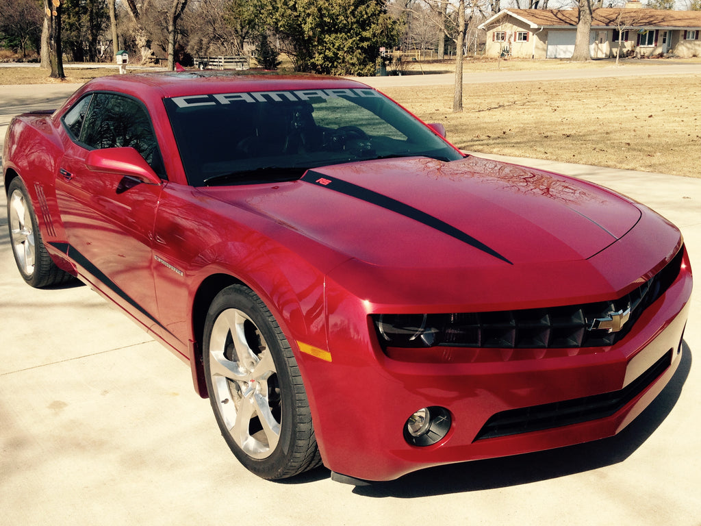 2010 2014 Chevy Camaro Hood Spears Rs Ss Ls Lt 2ss Zl1