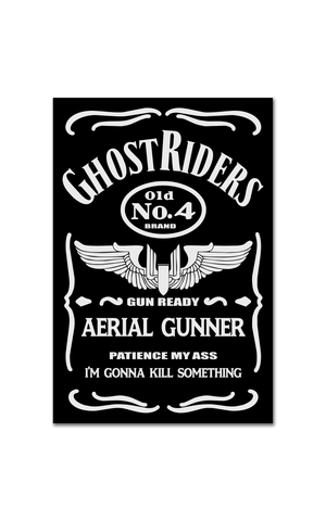 Gunner Jack Label Decal