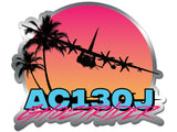 AC130J Ghostrider Sunset Slap