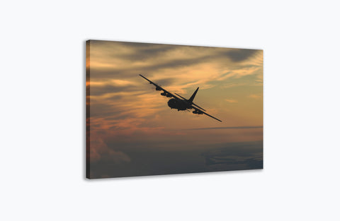 AC-130U Gunship Canvas Print Orbit Gulf Coast