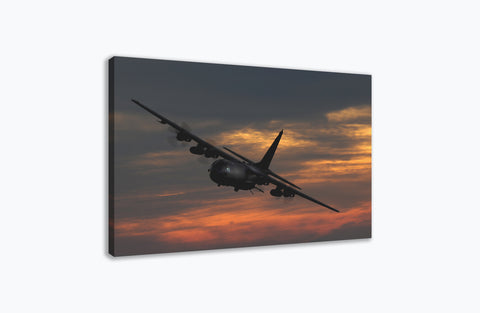 AC-130U Gunship Canvas Print Orbit