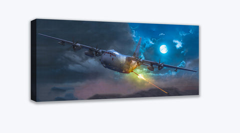 AC-130J Gunship Canvas Print