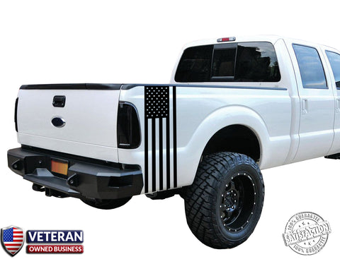Universal Truck American Flag Bed stripe Vinyl Decal