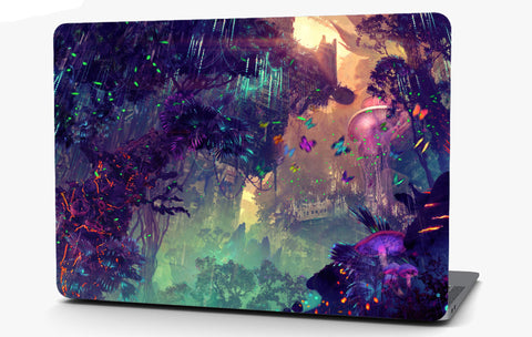 Fantasy City Vinyl Laptop Computer Skin Sticker Decal Wrap Macbook Various Sizes