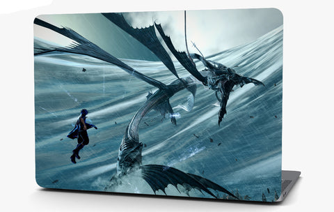 Fantasy Dragon Vinyl Laptop Computer Skin Sticker Decal Wrap Macbook Various Sizes