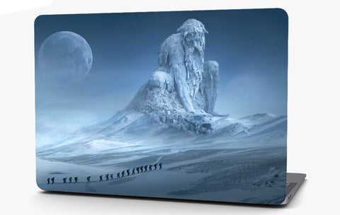 Fantasy Iced Over Vinyl Laptop Computer Skin Sticker Decal Wrap Macbook Various Sizes
