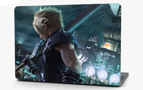 Final Fantasy Vinyl Laptop Computer Skin Sticker Decal Wrap Macbook Various Sizes