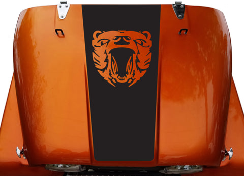 Grizzly Hood Blackout Medal of Honor Vinyl Decal Sticker fit: Jeep CJ 5 6 7 8