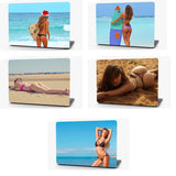 Beach Bikini Vinyl Laptop Computer Skin Sticker Decal Wrap Macbook Various Sizes