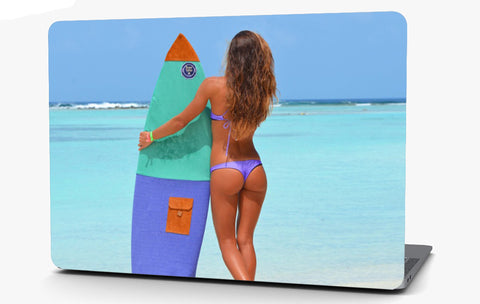 Beach Bikini 3 Vinyl Laptop Computer Skin Sticker Decal Wrap Macbook Various Sizes