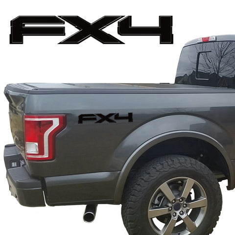 FX4 VINYL DECALS FITS: FORD TRUCKS 2008-2017 F150 F250 F350 SUPER DUTY