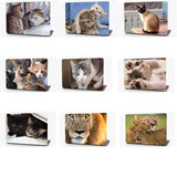 Two Kittens Vinyl Laptop Computer Skin Sticker Decal Wrap Macbook Various Sizes