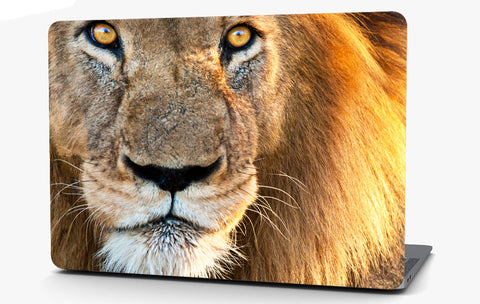 Lion Vinyl Laptop Computer Skin Sticker Decal Wrap Macbook Various Sizes