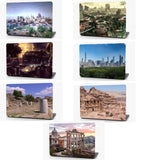 City Ruins Vinyl Laptop Computer Skin Sticker Decal Wrap Macbook Various Sizes