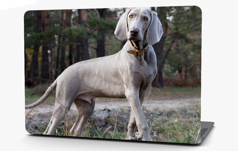Weimaraner Dog Vinyl Laptop Computer Skin Sticker Decal Wrap Macbook Various Sizes