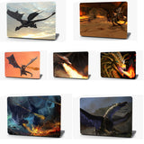 Wingless Dragon Vinyl Laptop Computer Skin Sticker Decal Wrap Macbook Various Sizes