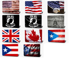 American Flag Waving Vinyl Laptop Computer Skin Sticker Decal Wrap Macbook Various Sizes
