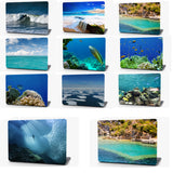 Busy Coral Reef Vinyl Laptop Computer Skin Sticker Decal Wrap Macbook Various Sizes