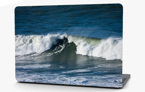 Ocean Waves Vinyl Laptop Computer Skin Sticker Decal Wrap Macbook Various Sizes