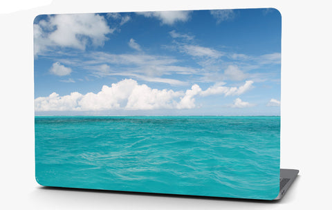 Calm Ocean Vinyl Laptop Computer Skin Sticker Decal Wrap Macbook Various Sizes